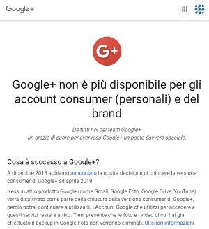 Google+, un social network ormai defunto che ci dice molto sulle piattaforme non proprietarie