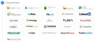 Le piattaforme con cui Google Tag Manager può interagire di default