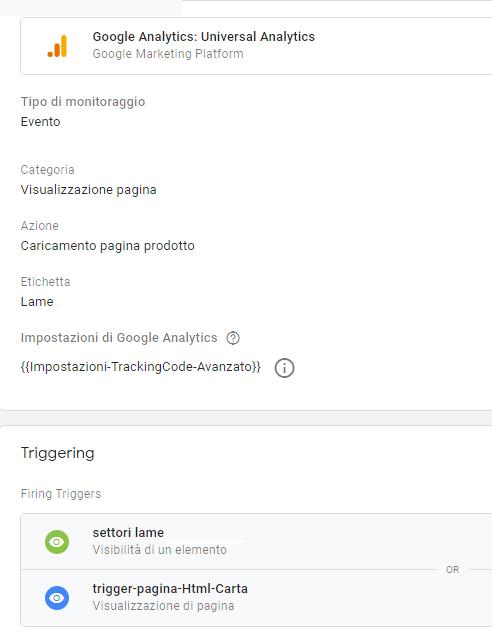 posizionamento sito mono-pagina: usare Google Tag Manager per simulare il caricamento di una nuova pagina