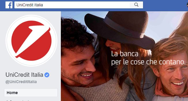 Unicredit lascia i social network